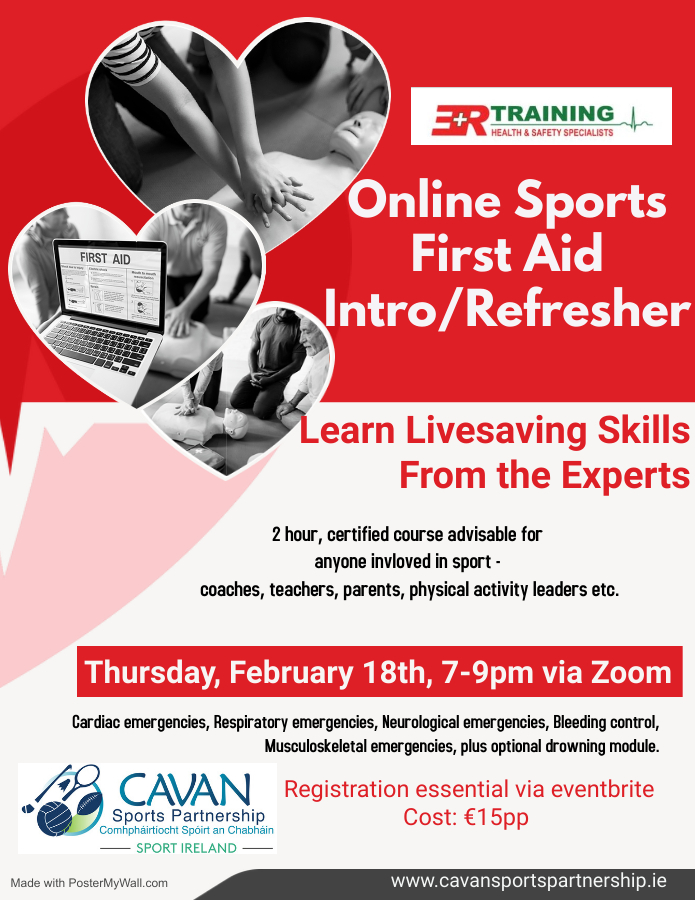 Online Sports First Aid Intro/Refresher