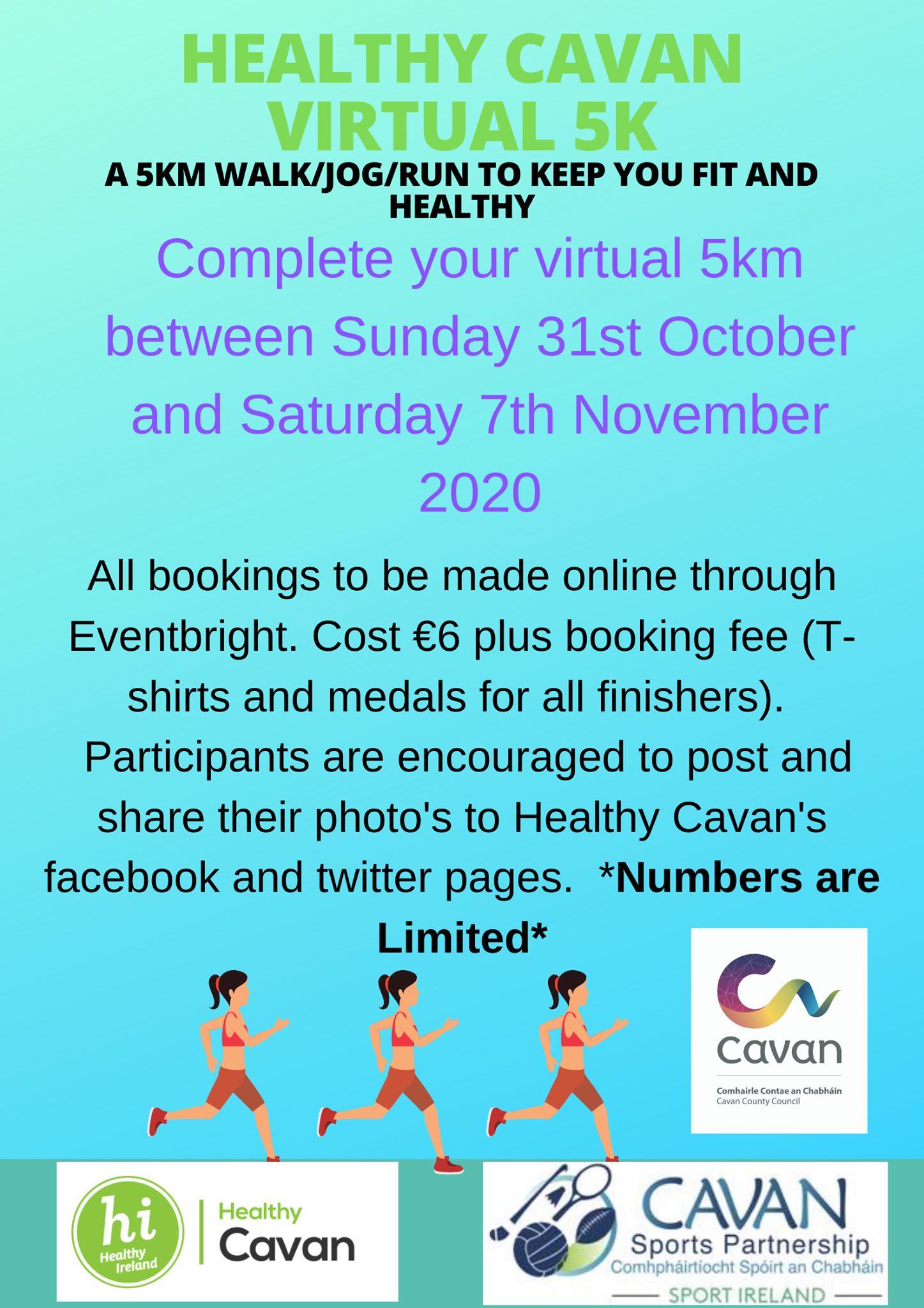 Healthy Cavan Virtual 5K