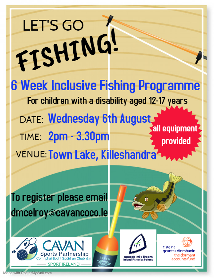 Inclusive Fishing Programme for children with a disability