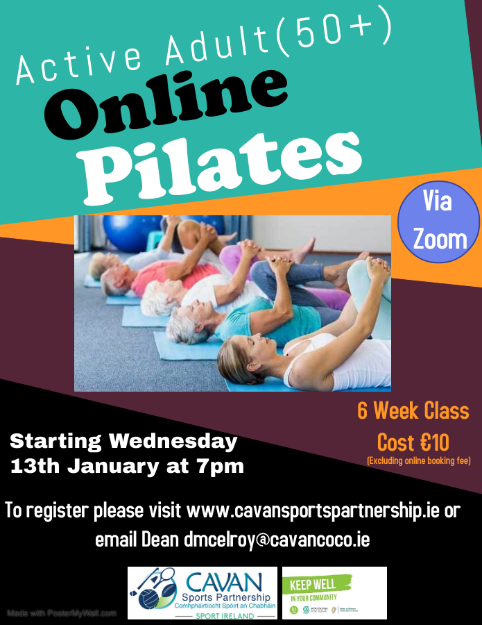 Online Pilates for Active Adults 50+