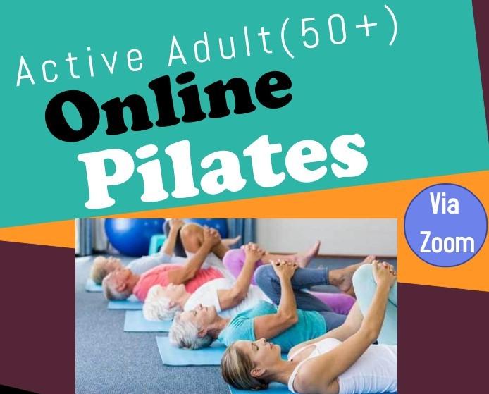 Online Pilates course via Zoom