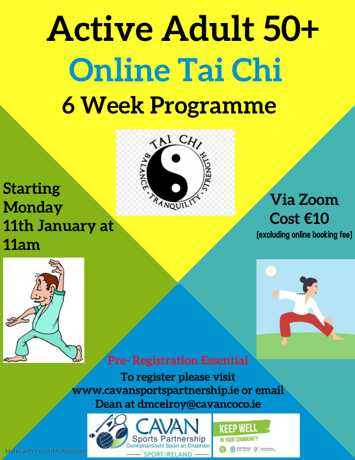 Online Tai Chi for Active Adults 50+