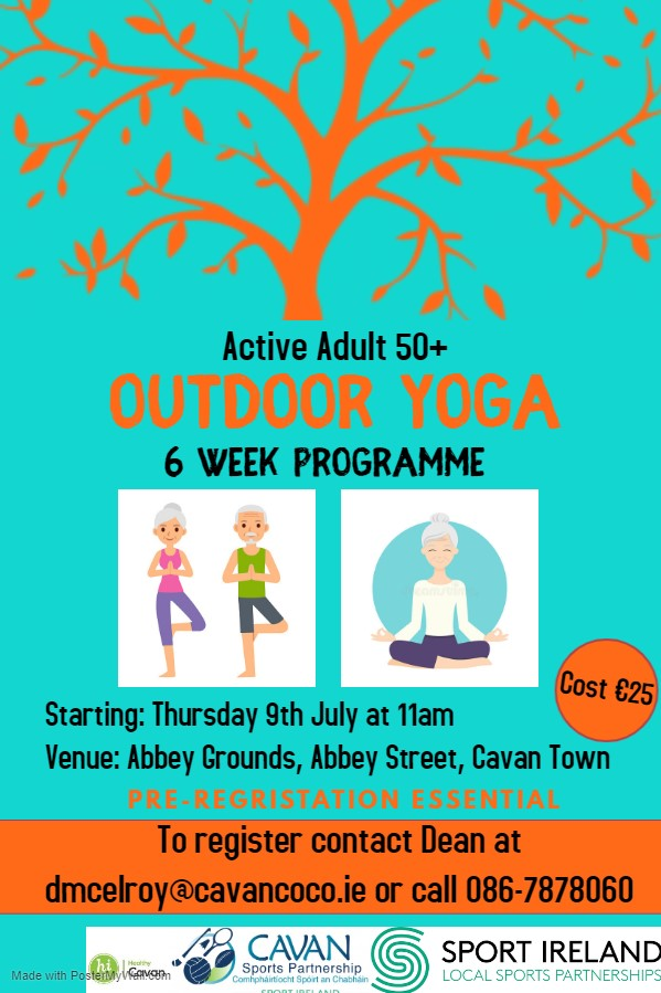 Outdoor Yoga for Class for Active Adults 50+