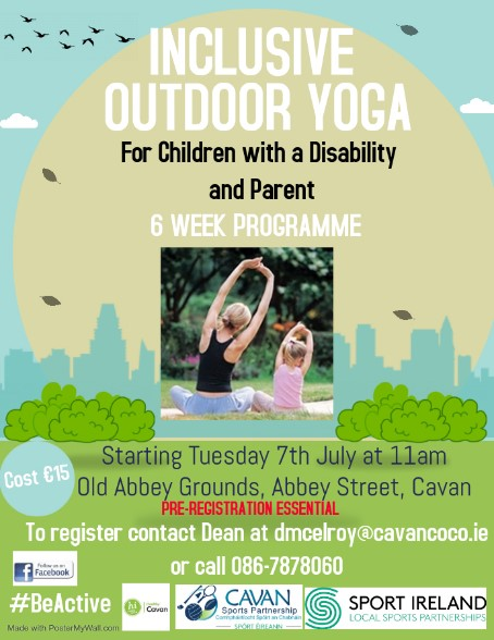 Outdoor Child & Parent Yoga Class
