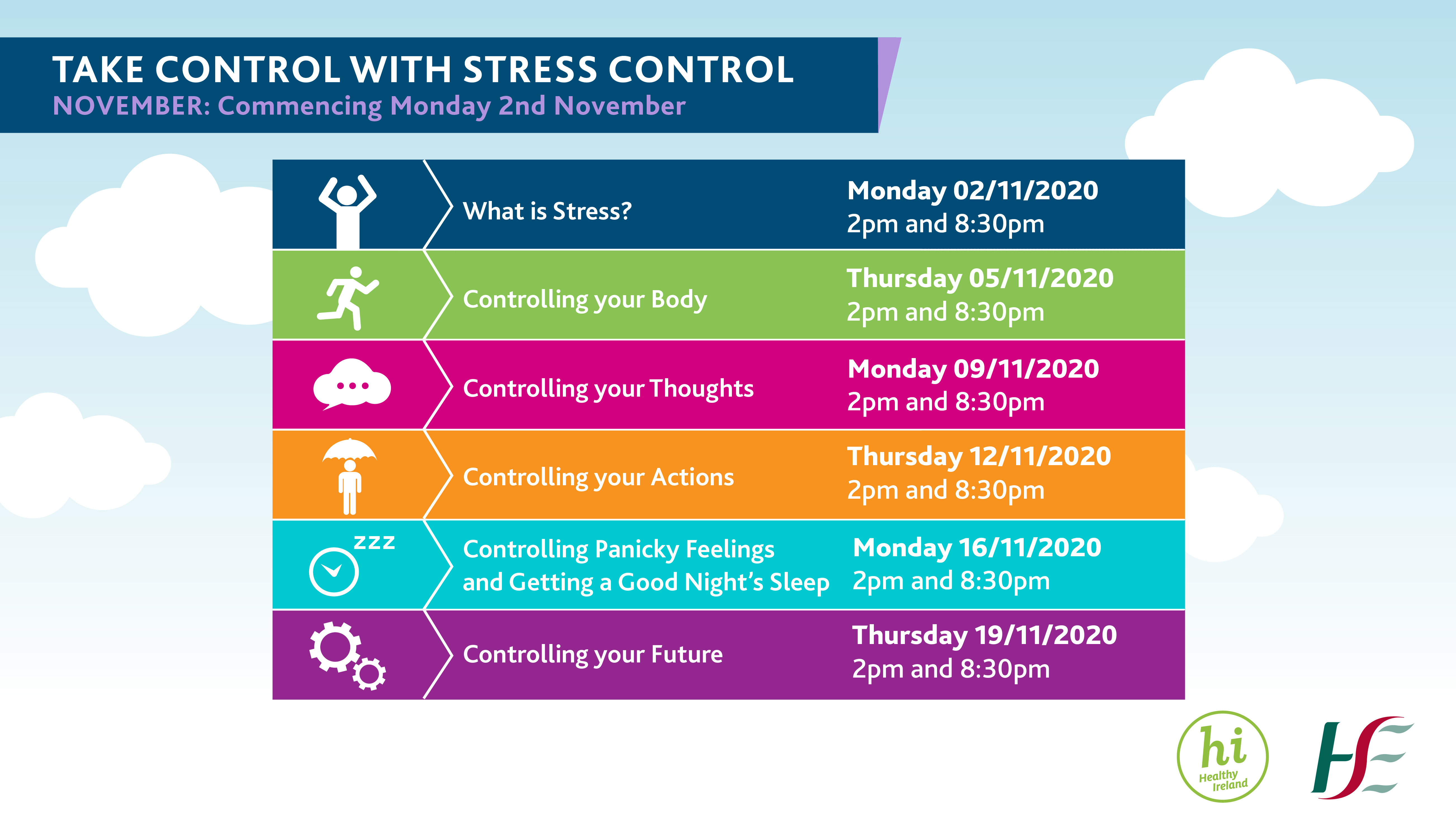 Take Control With Stress Control